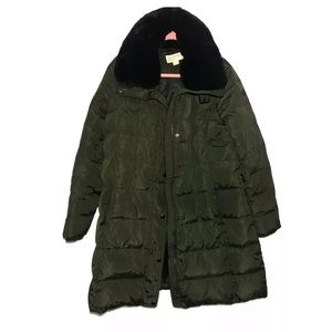 Michael Kors Packable Quilted Down Coat